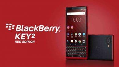 """صورة شركة بلاكبيري تطلق هاتف """"BlackBerry  Key2 Red Edition"""" بقدرة تخزين 128 جيجابايت"""