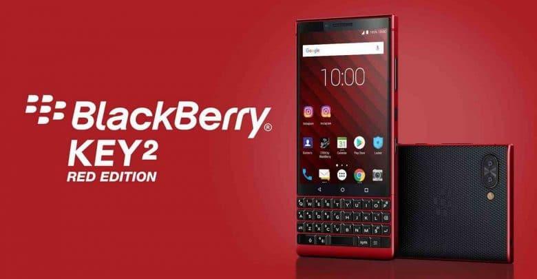 "Photo of شركة بلاكبيري تطلق هاتف ""BlackBerry  Key2 Red Edition"" بقدرة تخزين 128 جيجابايت"