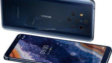 """صورة نوكيا تعلن رسميا عن هاتفها الجديد """"Nokia 9 PureView"""" بخمس كاميرات خلفية"""