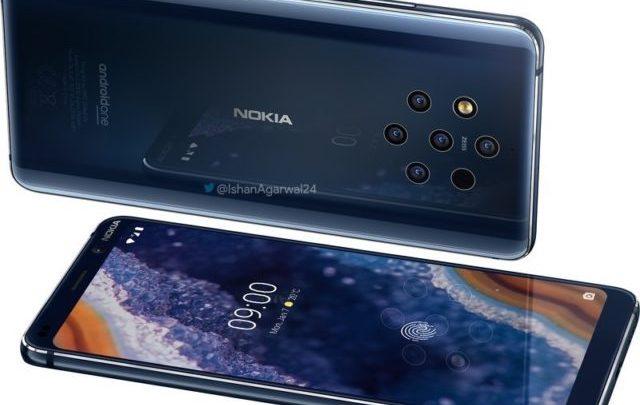 "Photo of نوكيا تعلن رسميا عن هاتفها الجديد ""Nokia 9 PureView"" بخمس كاميرات خلفية"